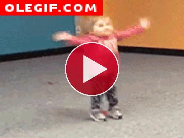 GIF: Niña bailarina