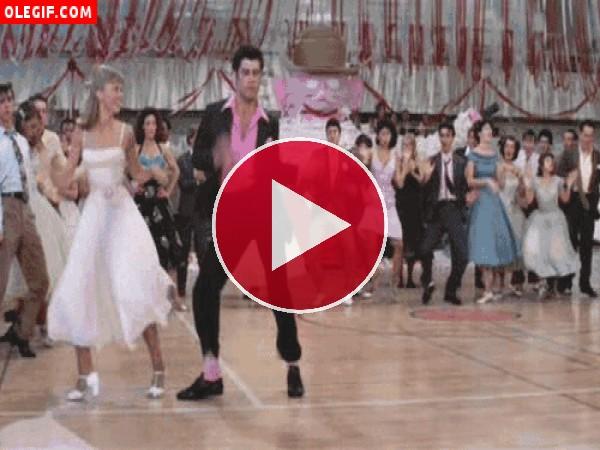 GIF: Baile en Grease