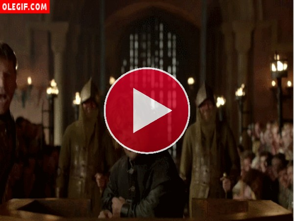 GIF: Tyrion Lannister bailando (Juego de Tronos)