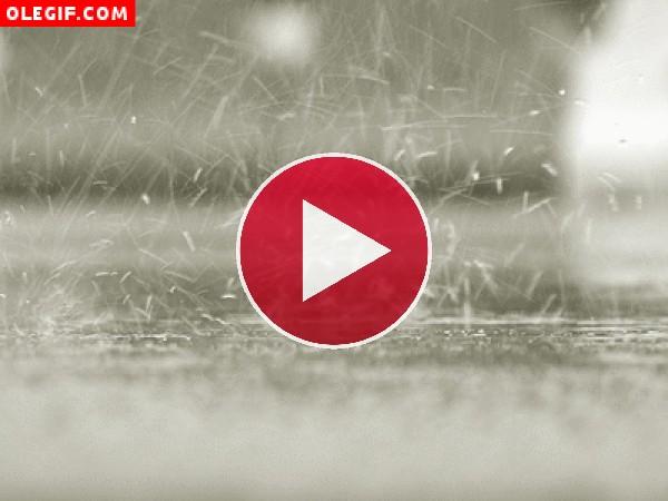GIF: Lluvia