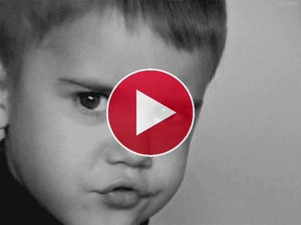GIF: Justin Bieber de pequeño