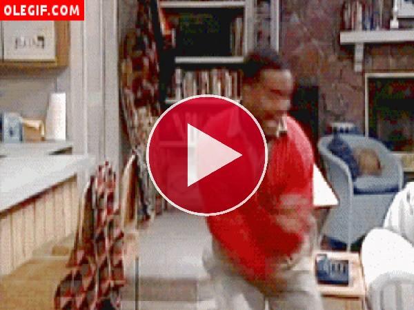 GIF: Carlton bailando (El Príncipe de Bel Air)