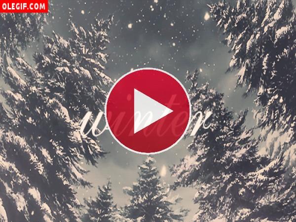 GIF: Invierno