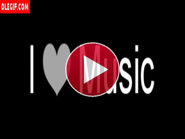 GIF: Yo amo la Música
