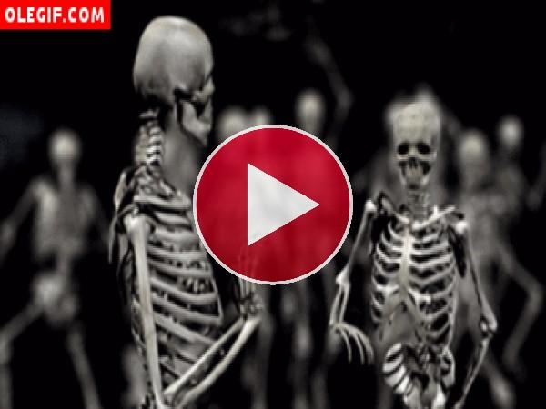 Moviendo el esqueleto