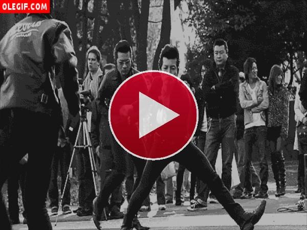 Qué bien bailan los rockabilly japoneses