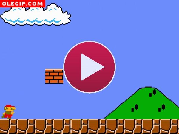Super Mario se ha comido una seta venenosa
