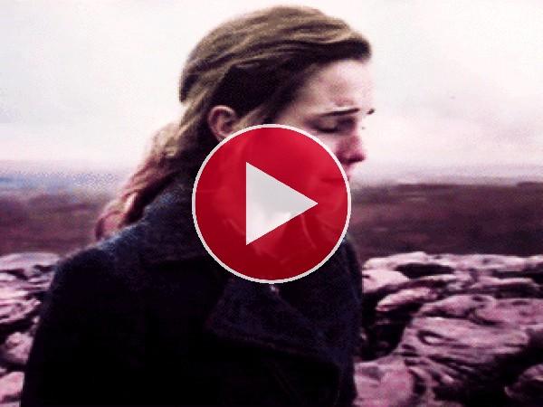 Emma Watson llorando amargamente