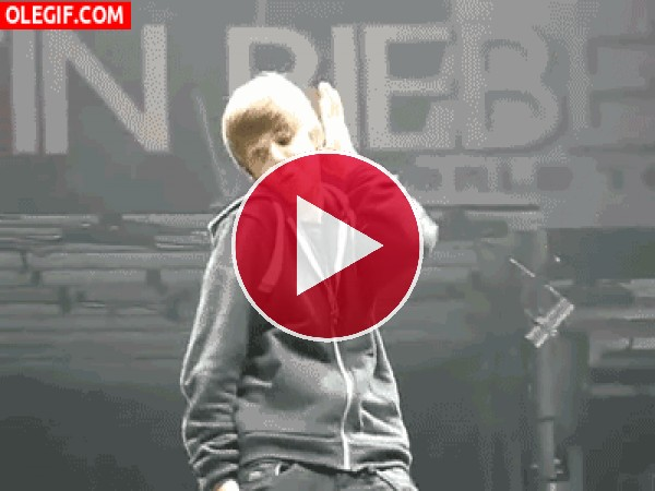 El baile sexi de Justin Bieber