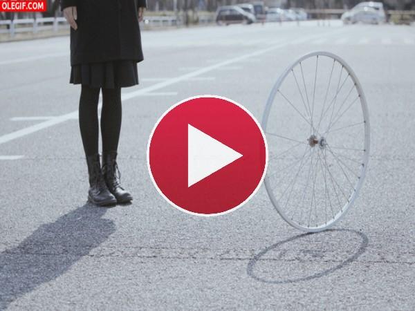 GIF: La rueda gira, gira y no para de girar