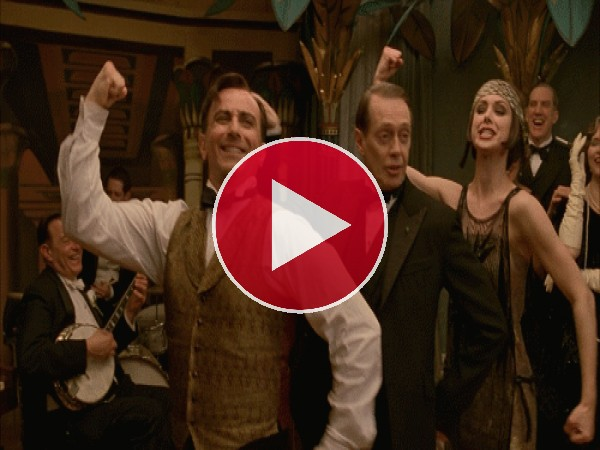 Nucky moviendo el esqueleto (Boardwalk Empire)