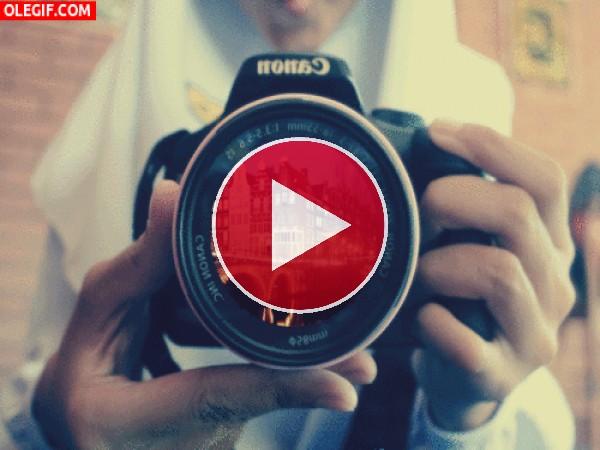 GIF: Paisajes en el objetivo de una cámara