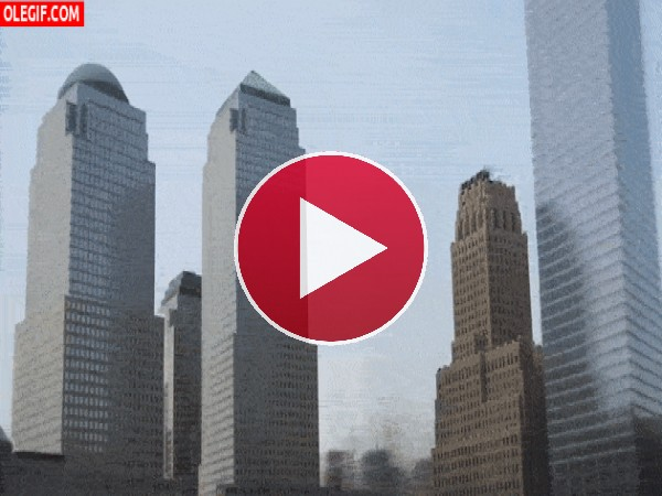 GIF: La construcción de un edificio
