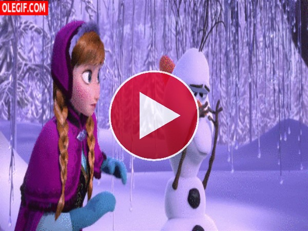 ¿Qué le pasa a Olaf?