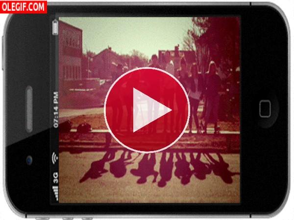 GIF: Sombras bailongas