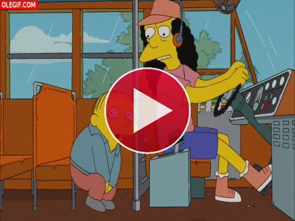 GIF: Ralph se hace pipí...