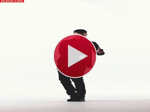 GIF: Qué bien mueve las caderas Justin Timberlake