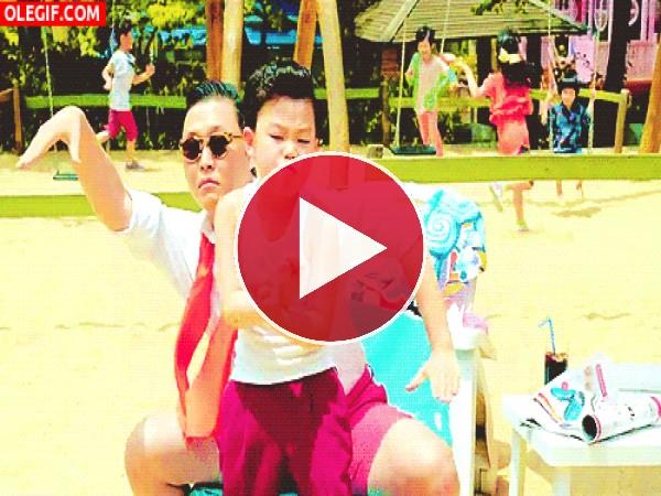 GIF: El sucesor del Gangnam Style