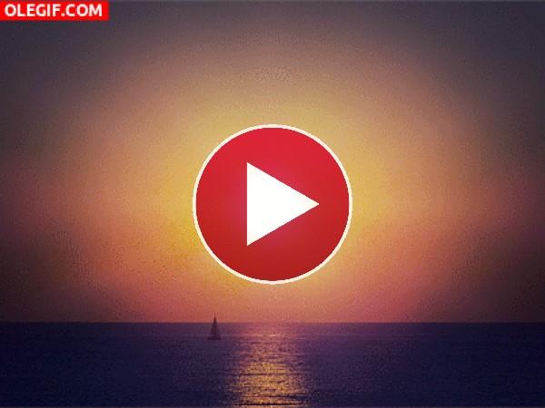 GIF: Amanecer y anochecer