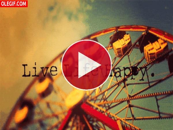 GIF: Vive la vida feliz