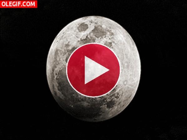 GIF: Huella en la Luna