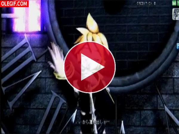 Len cantando y bailando