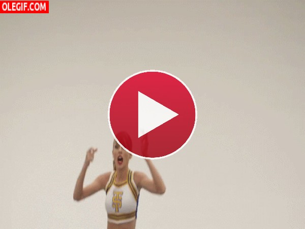 Taylor Swift se va a marear de tanto saltar