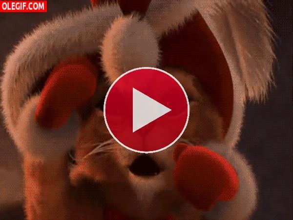 GIF: El Gato con Botas boxeando