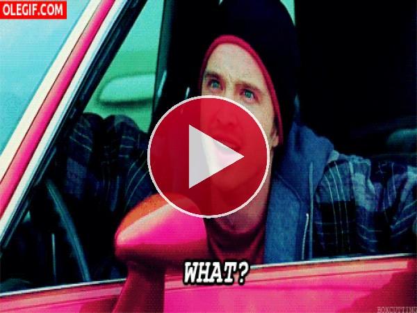 ¿Qué?... se pregunta Jesse Pinkman