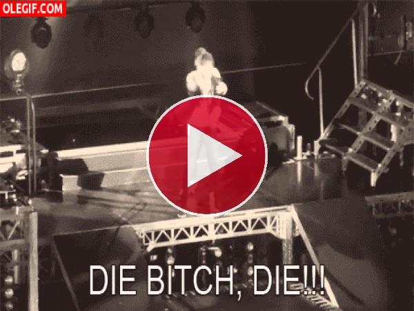 GIF: ¡Largo de mi escenario!