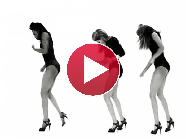 "Beyoncé bailando ""Single Ladies"""