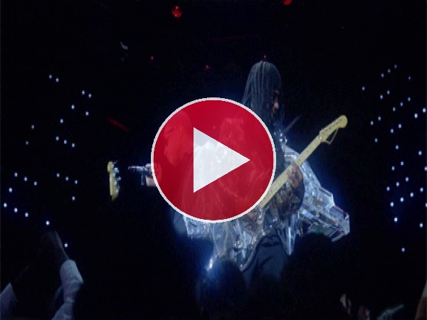 "GIF: Pharrell Williams y Nile Rodgers con Daft Punk interpretando ""Lose Yourself to Dance"""