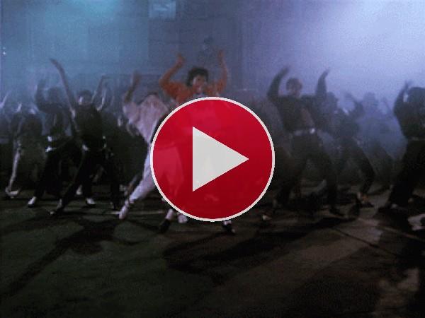 """GIF: Se van a descoyuntar bailando """"Thriller"""""""