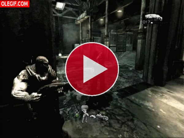 GIF: Matanza en Gears of War 2
