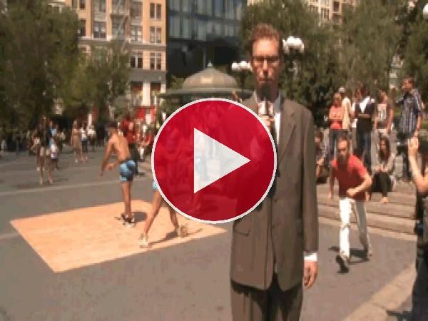 GIF: Bajada de pantalones en directo
