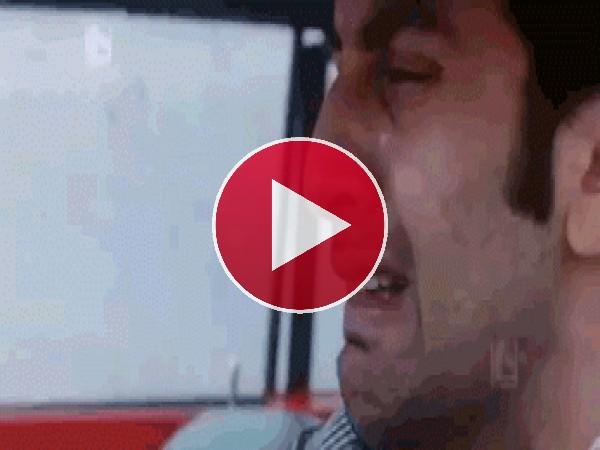 GIF: Este hombre está llorando desconsolado