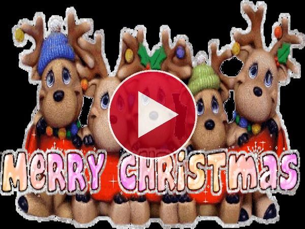 """Estos pequeños renos te desean """"Feliz Navidad"""""""