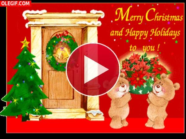 GIF: ¡Feliz Navidad y Felices Fiestas!