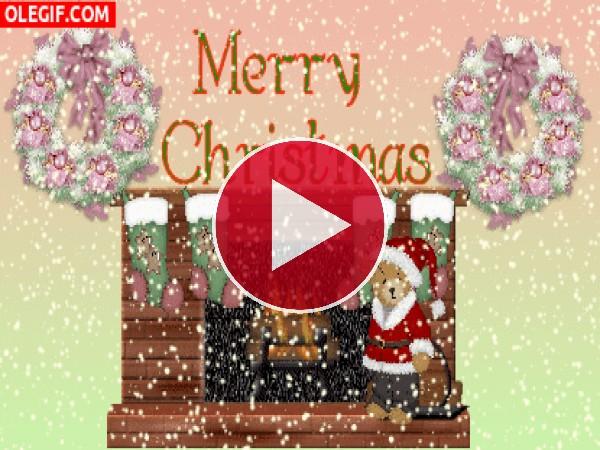 Nieva en Navidad