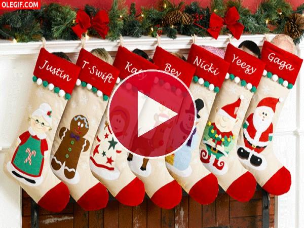 GIF: Algunos famosos de te desean ¡Feliz Navidad!