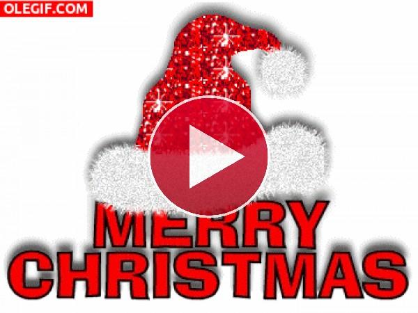 GIF: Felicitación navideña