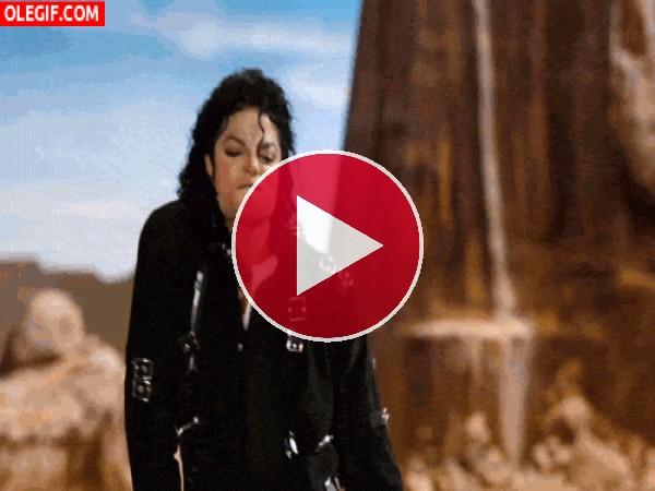 GIF: Qué bien se mueve Michael