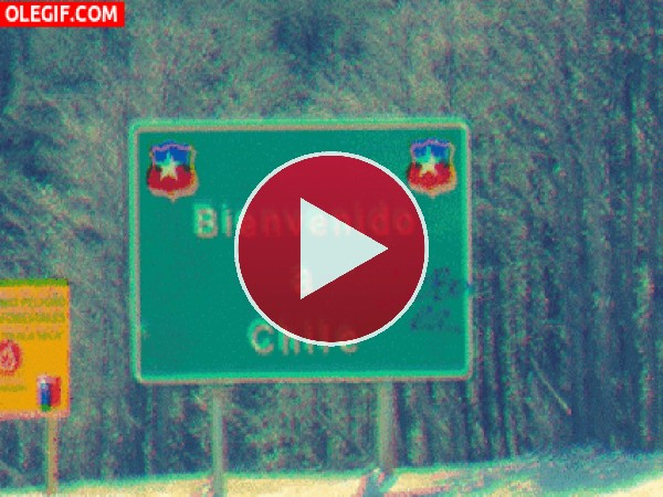 Bienvenido a Chile... tierra de temblores