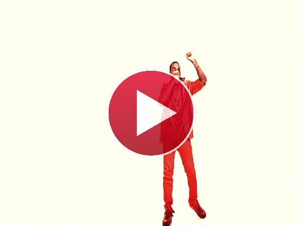 GIF: Kanye West: el hombre de rojo