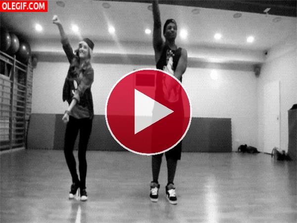 GIF: Una coreografía chula