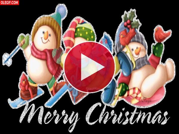 "GIF: Os deseamos ""Feliz Navidad"""