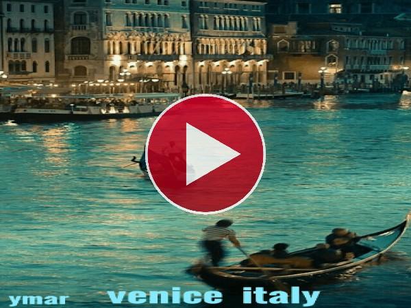 GIF: Un paseo por los canales de Venecia