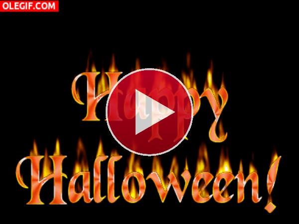 GIF: Que pasen un ¡Feliz Halloween!
