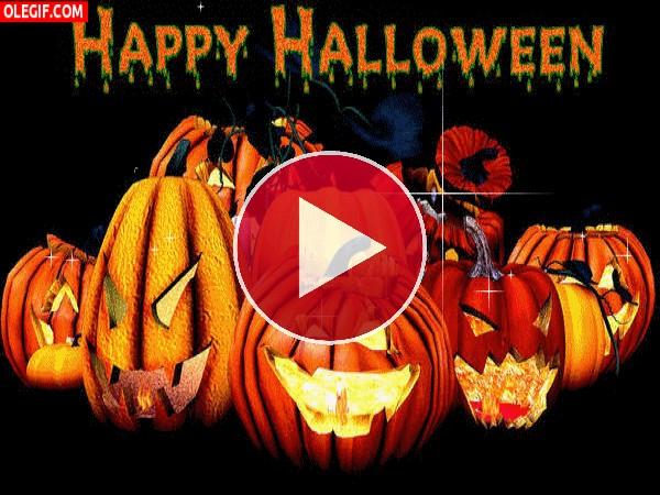 Felicitación de Halloween
