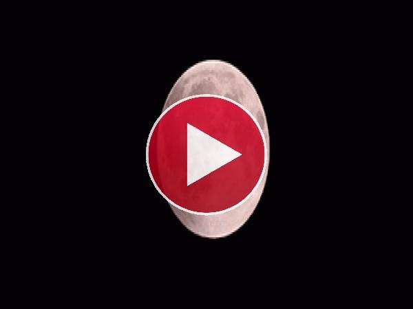 GIF: La superluna roja